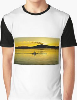 Cold Training Morning row. Graphic T-Shirt