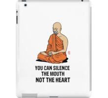 Silenced.... iPad Case/Skin