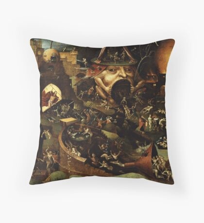 Purgatory Throw Pillow