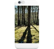 Forest Shadows iPhone Case/Skin