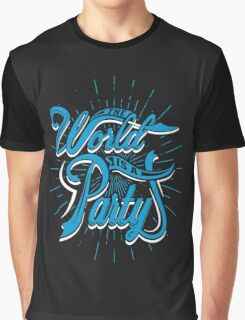 World Party Graphic T-Shirt