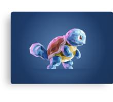 Porymon Squirtle | Pokemon Canvas Print