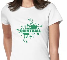Paintball color Womens Fitted T-Shirt