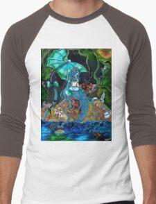 The Siren Men's Baseball ¾ T-Shirt