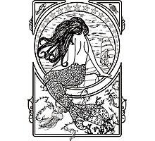 Mermaid Photographic Print