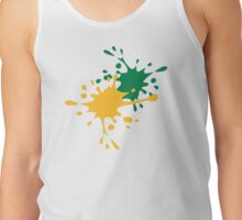 Paintball color splash Tank Top