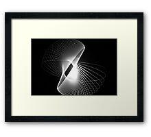 Spirals Framed Print