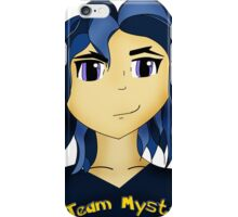 Kawaii Anime style girl in blue - Team Mystic iPhone Case/Skin