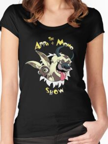 The Appa and Momo Show Women's Fitted Scoop T-Shirt