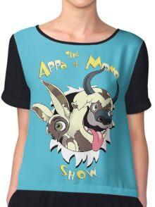 The Appa and Momo Show Chiffon Top