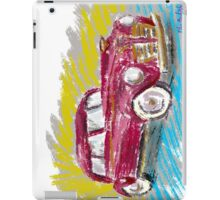 Old Red Plymouth Sketch iPad Case/Skin