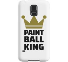 Paintball king crown Samsung Galaxy Case/Skin