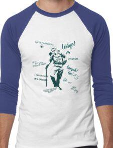 holtzmann quotes Men's Baseball ¾ T-Shirt