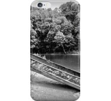Boat in Black and White iPhone Case/Skin