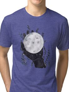 The Moon in your hand Tri-blend T-Shirt
