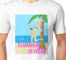 Summer is here design Unisex T-Shirt
