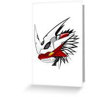 digimon imperialdramon dragon mode Greeting Card