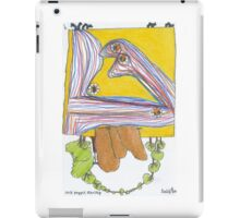 Sock puppet starship  iPad Case/Skin