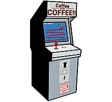 Coffee or COFFEE!! (Insert coffee to play) Photographic Print