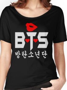 ♥♫Love BTS-Bangtan Boys K-Pop Clothes & Phone/iPad/Laptop/MackBook Cases/Skins & Bags & Home Decor & Stationary♪♥ Women's Relaxed Fit T-Shirt