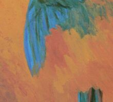 Mysterious Macaw Sticker