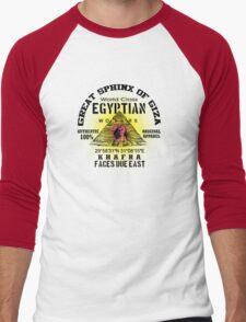 egyptian sphinx Men's Baseball ¾ T-Shirt