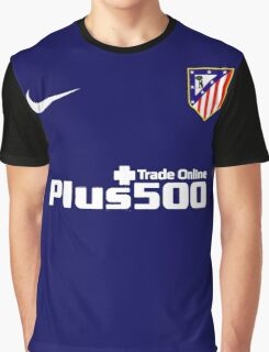 INTERNATIONAL CHAMPIONS CUP - Atlético Madrid (Jersey Blue) Graphic T-Shirt