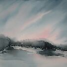Paysage d'orage by Aline Gason