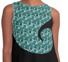 Limited Edition: Turquoise Tires Contrast Tank