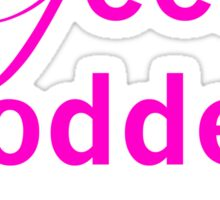 Geek Goddess Sticker
