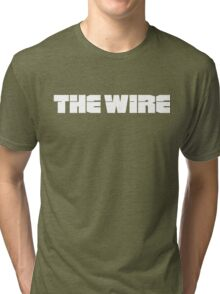 The Wire (2002) TV Series Tri-blend T-Shirt