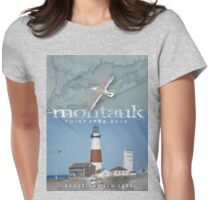 MONTAUK POINT Womens Fitted T-Shirt