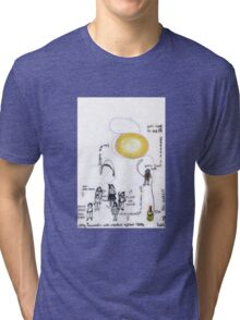 Early Nanomatic Systems 2096 Tri-blend T-Shirt