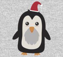Christmas Penguin   Kids Tee