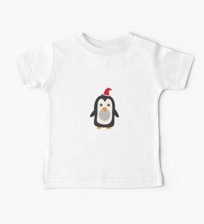 Christmas Penguin   Baby Tee