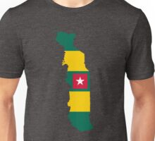 Togo Flag Map Unisex T-Shirt