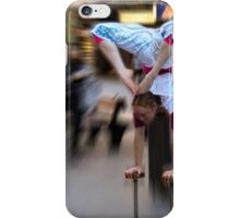 Street performer, Rundle Mall, Adelaide iPhone Case/Skin