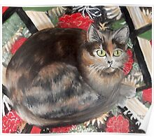 Espresso on Julia's Quilt Poster