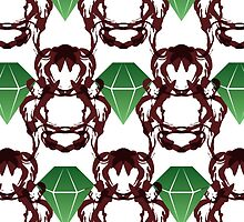 Emeralds & Demons [WHITE] by Daniel Bevis