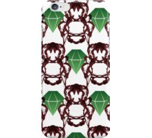 Emeralds & Demons [WHITE] iPhone Case/Skin