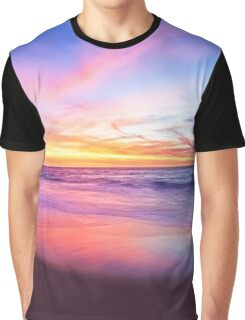 Aussie Sunset Claytons Beach Mindarie - Clothing Graphic T-Shirt