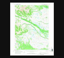 USGS TOPO Map Alaska AK Taylor Mountains A-5 359841 1954 63360 Unisex T-Shirt