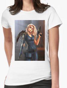 Sci-Fi Game of Thrones - Daenerys Targaryen Womens Fitted T-Shirt
