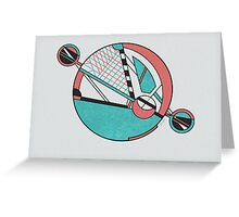Miami Moon Greeting Card