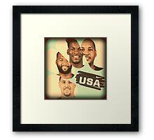 Team USA Framed Print