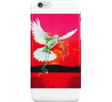 Magestic Sun Blank Card iPhone Case/Skin