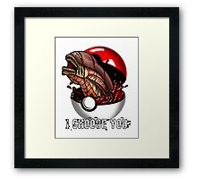 Pokemon Xenomorph Framed Print