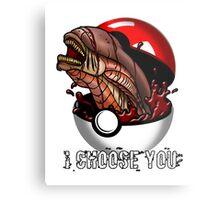 Pokemon Xenomorph Metal Print