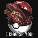 Pokemon Xenomorph by William Black