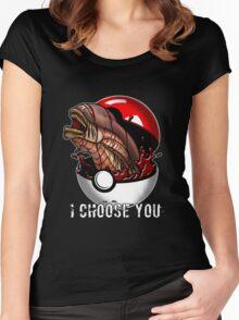 Pokemon Xenomorph Women's Fitted Scoop T-Shirt